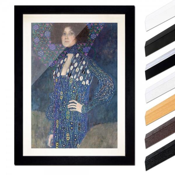 Gustav Klimt - Porträt der Emilie Flöge