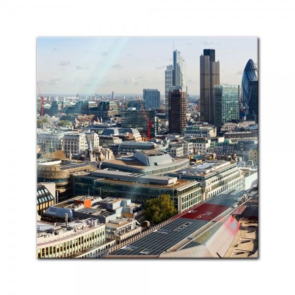 Glasbild - London Panorama