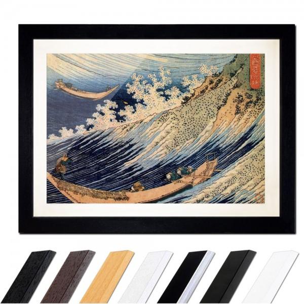 Katsushika Hokusai - Choshi in der Simosa Provinz