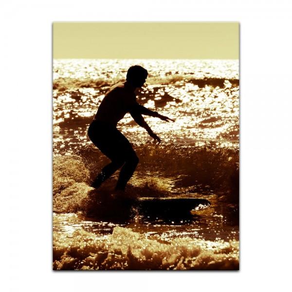 Leinwandbild - Surfing V