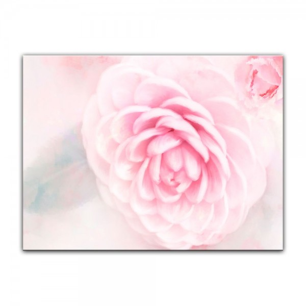Leinwandbild - Aquarell - Rosa Rosen