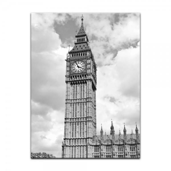Leinwandbild - Big Ben London - UK