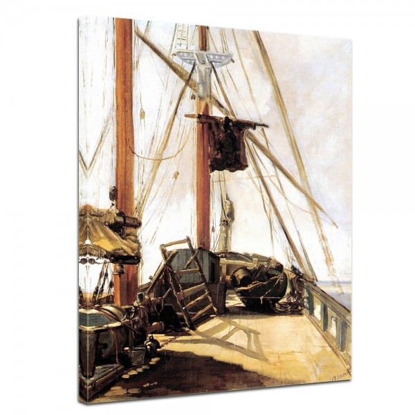 SALE Leinwandbild - Édouard Manet Schiffsdeck - 30x40 cm