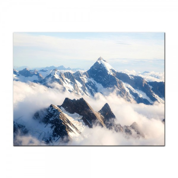 Leinwandbild - Mount Cook - Neuseeland