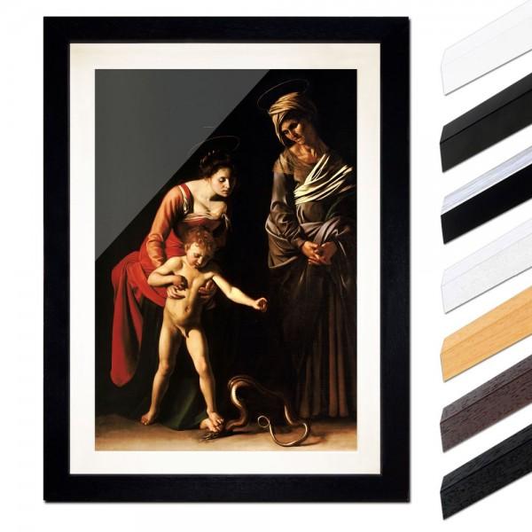 Caravaggio - Madonna mit Kind und der heiligen Anna