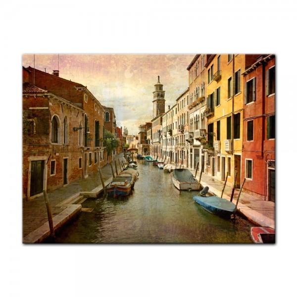 Leinwandbild - Venedig Grunge 2