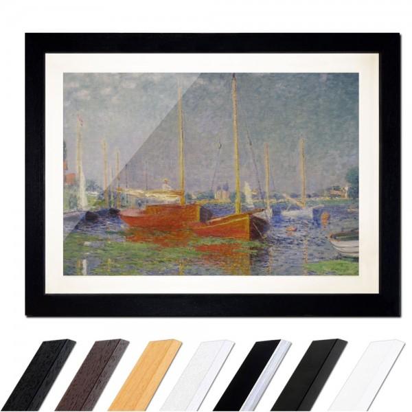 Claude Monet - Die roten Boote, Argenteuil