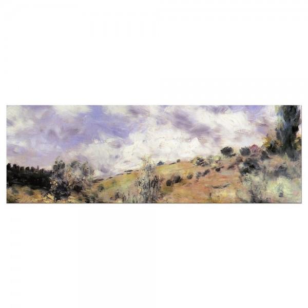 Leinwandbild - Pierre-Auguste Renoir - Starker Wind