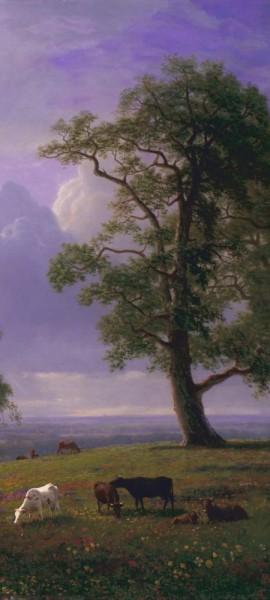 Türtapete selbstklebend - Albert Bierstadt - California Spring 90 x 200 cm Maler Alte Meister Lands
