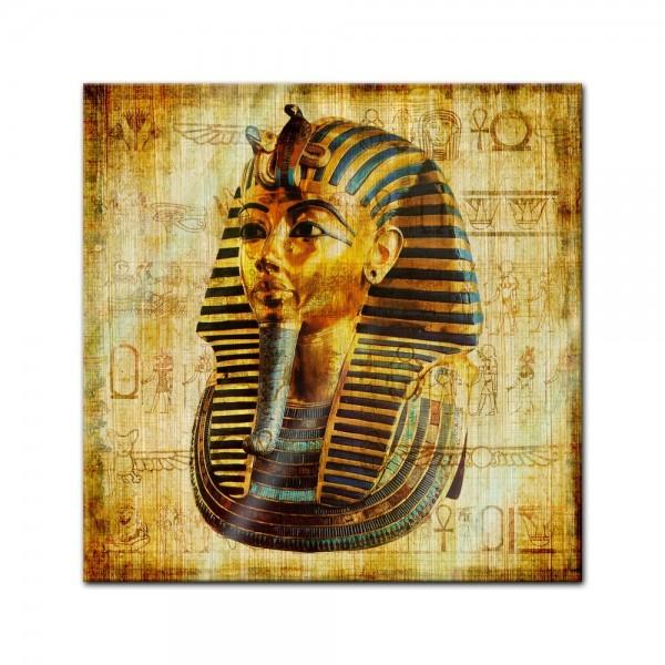 Glasbild - Pharao - Ägypten