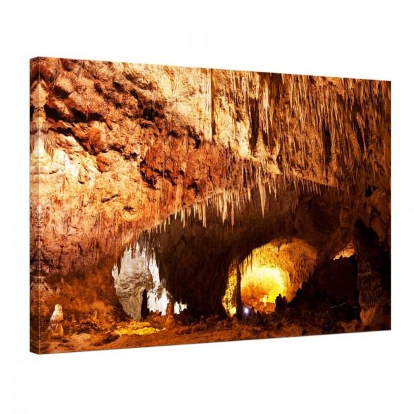 Leinwandbild - Carlsbad Caverns - National Park in den USA