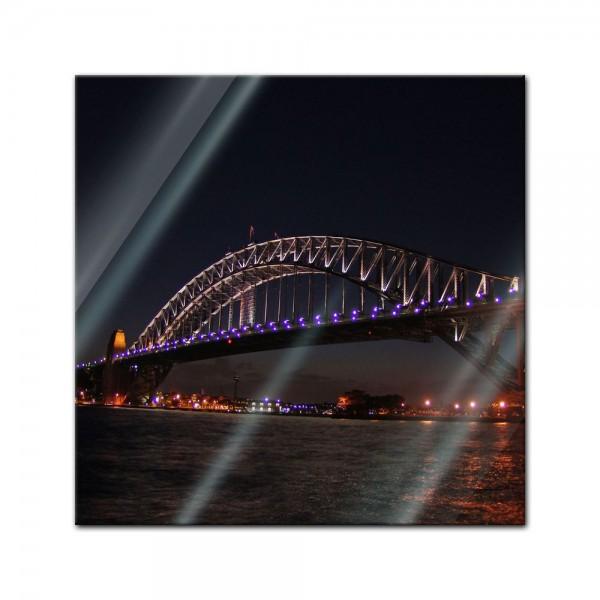 Glasbild - Harbour Bridge - Australien