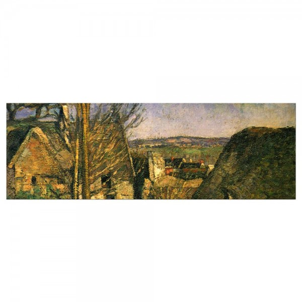 Leinwandbild - Paul Cézanne - Das Haus des Gehenkten bei Auvers