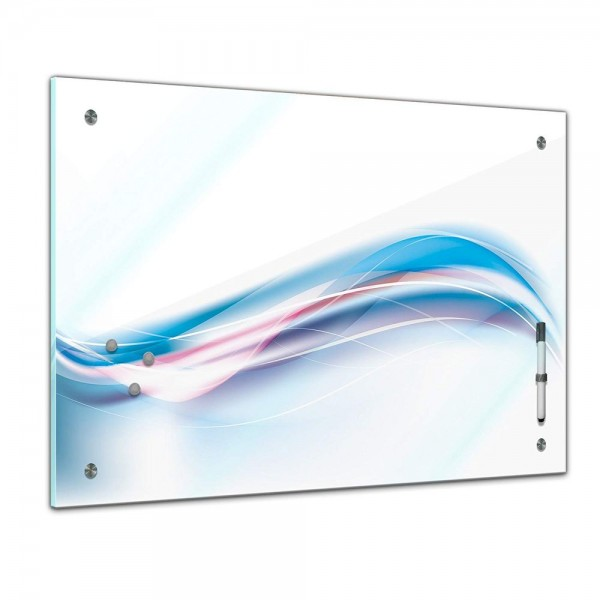Memoboard - Textur & Hintergrund - Grafik blau weiß