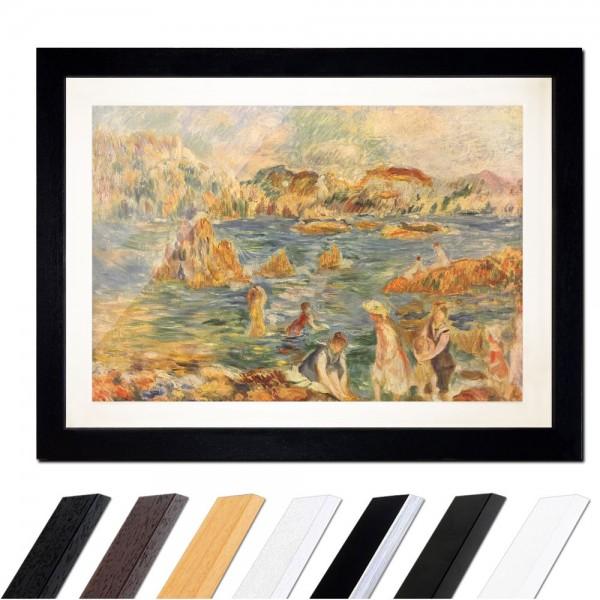 Pierre-Auguste Renoir - Am Strand von Guernesey