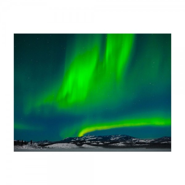 Leinwandbild - Nordlichter