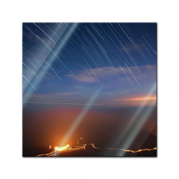 Glasbild - Sternenschauer