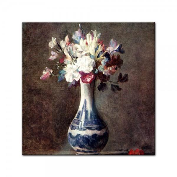 Glasbild Jean Siméon Chardin - Alte Meister - Blumenstillleben