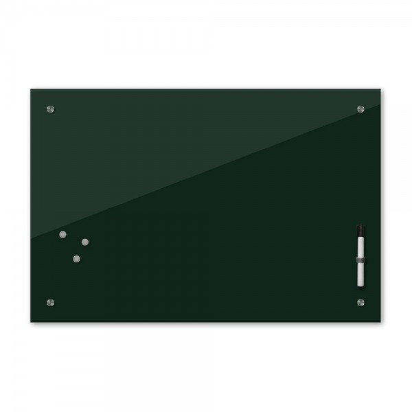 Memoboard - dunkelgrün - grün - 24 Farben