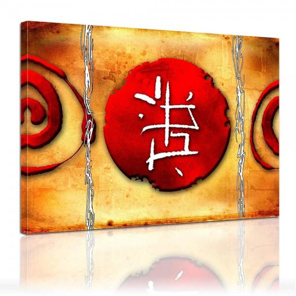 SALE Leinwandbild - Chinesische Kunst - 50x40 cm