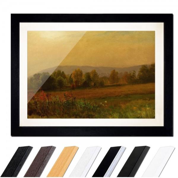 Albert Bierstadt - Autumn Landscape - Herbstlandschaft