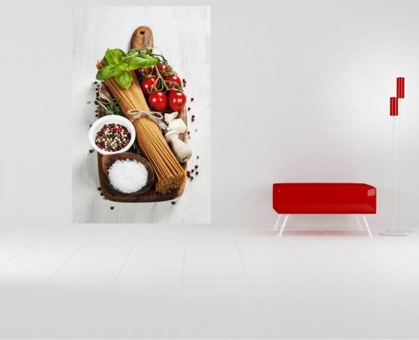 Fototapete - Italienische Pasta II