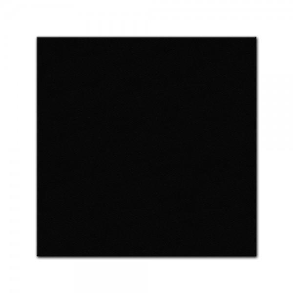 bemalbare Leinwand in schwarz - Quadrat