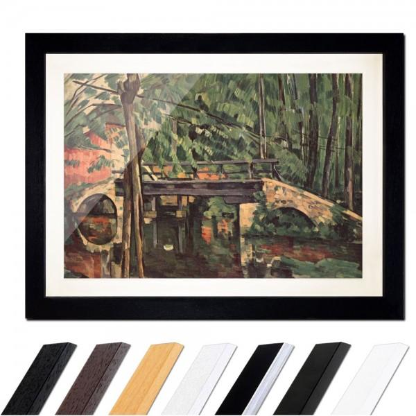 Paul Cézanne - Die Brücke von Maincy