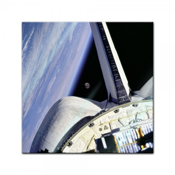 Glasbild - Space Shuttle