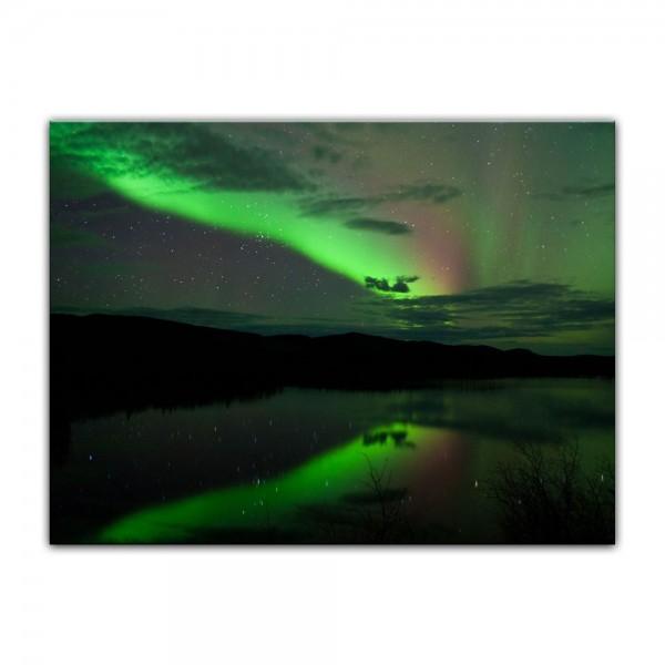 Leinwandbild - Nordlichter I