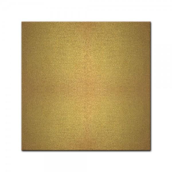 Künstlerleinwand - bemalbare Leinwand in gold - Quadrat