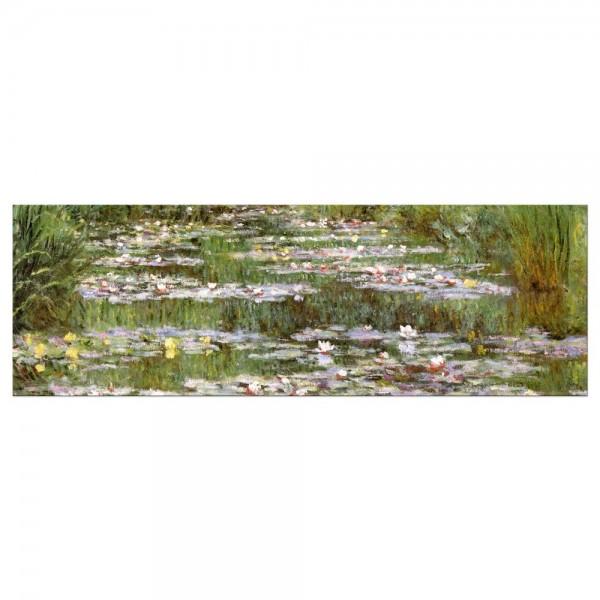 Leinwandbild - Claude Monet - Die japanische Brücke