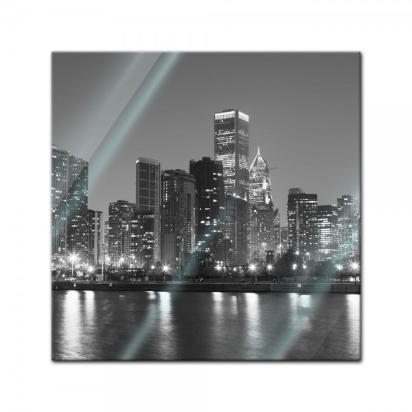 Glasbild - Chicago