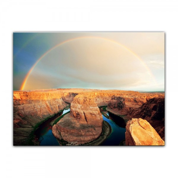 Leinwandbild - Horseshoe Bend - Arizona
