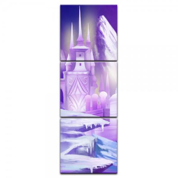 Leinwandbild - Kinderbild - Eispalast