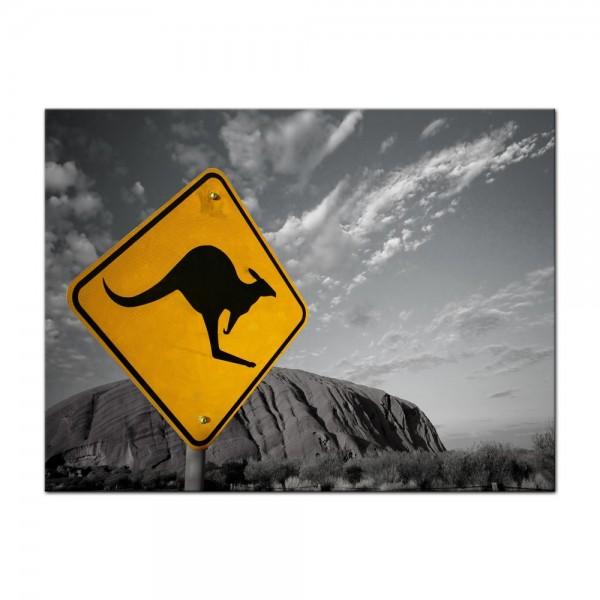 Leinwandbild - Ayers Rock - Australien sw