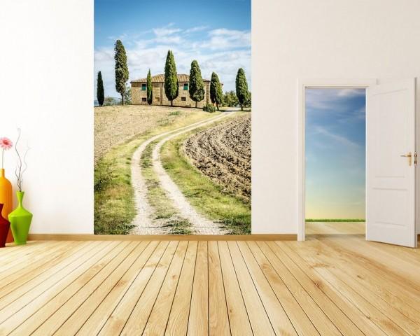 Fototapete Toskana - Italien