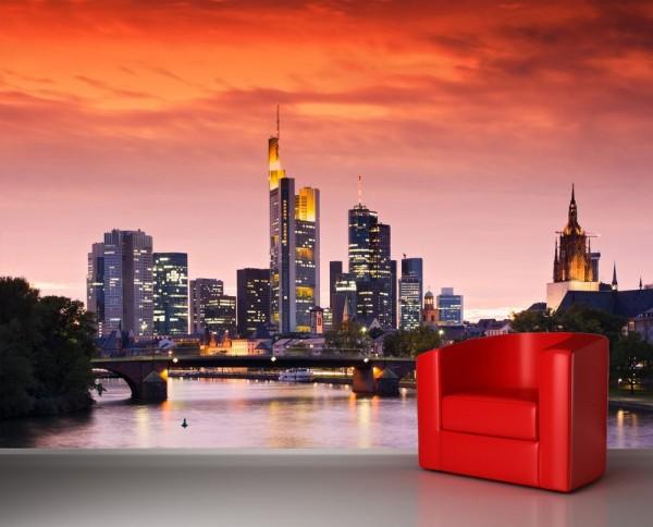 Fototapete Skyline Frankfurt am Main - Deutschland