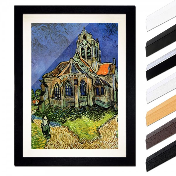 Vincent van Gogh - Die Kirche von Auvers