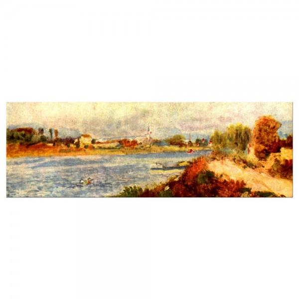 Leinwandbild - Pierre-Auguste Renoir - Seine bei Argenteuil