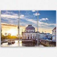 Leinwandbild Guten Morgen Berlin