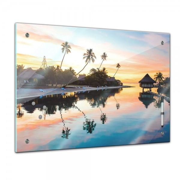 Memoboard - Landschaft - Tropischer Sonnenuntergang