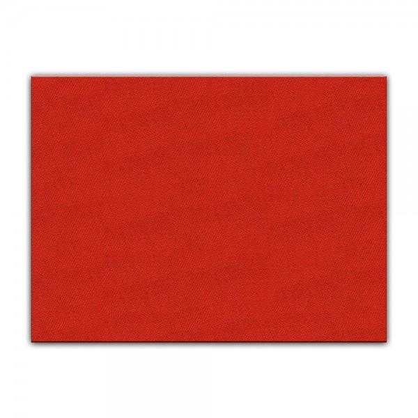 Künstlerleinwand - bemalbare Leinwand in rot - Rechteck