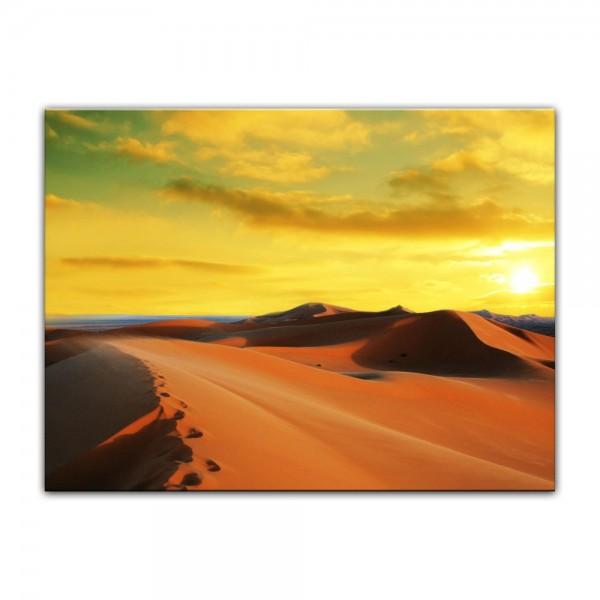 Leinwandbild - Sahara - Wüste in Afrika II