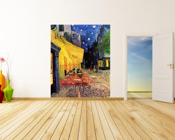 Fototapete Vincent van Gogh - Alte Meister - Caféterrasse am Abend