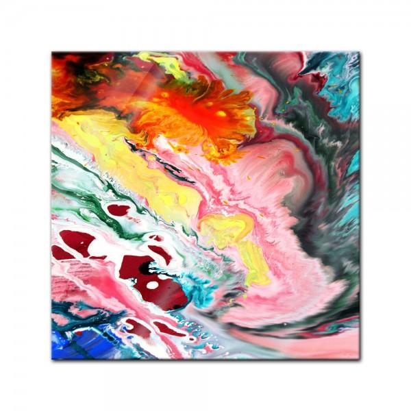 Glasbild - Abstrakte Kunst XXIII