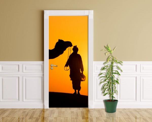 Türaufkleber - Thar Wüste