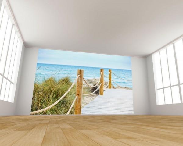 Fototapete Schöner Weg zum Strand
