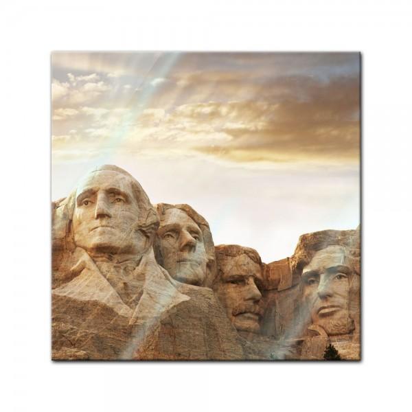 Glasbild - Mount Rushmore