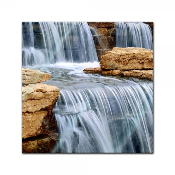 Glasbild - Cascading Wasserfall - Australien